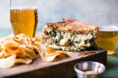 Irish Pub Spinach and Artichoke Melt | halfbakedharvest.com @hbharvest