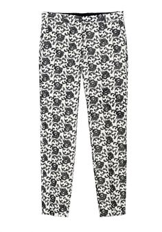 QL2 - PENELOPE EMBROIDERY STRAIGHT PANT  (YOU HAVE TO TRY TO CHANGE) #women's #fashion
