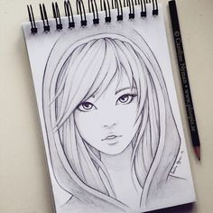 Help For pencil drawing – Art Sketches Anime Drawings Sketches, Girly Drawings, Cool Art Drawings, Pencil Art Drawings, Beautiful Drawings, Manga Drawing, Easy Drawings, Drawing Art, Drawing Faces