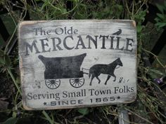 Hand Painted Wood Sign Rustic Primitive Home Decor