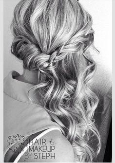 Black and white,braid hair~