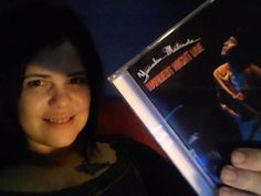 "Me with my CD of Yusaku,""Hardest Night LIVE"".I love it!"