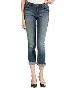 f0b5fd3296779 DKNY Jeans Bleeker Straight-Leg Boyfriend Jeans