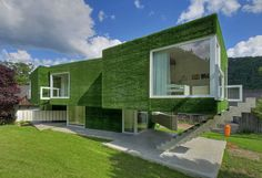A Surrealist House Adorned by Weichlbauer Ortis Architects, in Frohnleiten, Austria
