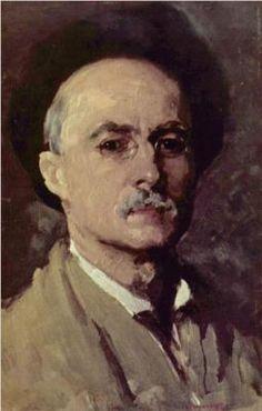 Nicolae Grigorescu (Romanian: 1838 - 1904) - Self Portrait