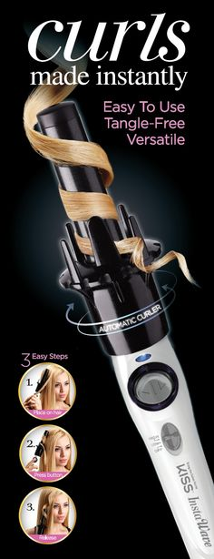 Or this, think it would work on my hair? Looking for an automatic curler? Get $10 off InstaWave at Target!