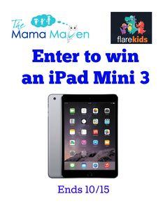 Giveaway: Flare Kids Offers Great Kid-Friendly Content & Parental Controls   The Mama Maven Blog #tech #parentalcontrols