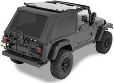 Bestop® 56821-35 Trektop™ NX Complete Soft Top - Jeep Wrangler TJ Unlimited, Black Diamond