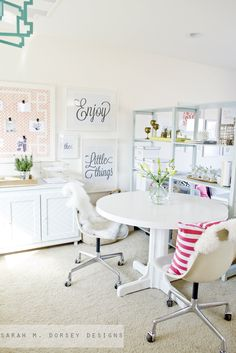 Love the wall art and board sarah m. dorsey designs: Eames Chairs FINISHED (finally + for now)