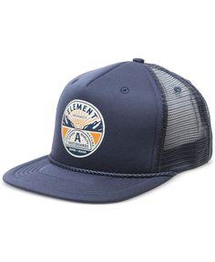 cc7d979b60e2b5 Element Men's Symbol Graphic-Print Logo Trucker Hat & Reviews - Hats,  Gloves & Scarves - Men - Macy's