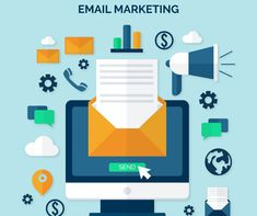 E-commerce Email marketing is yet the most immediate and powerful method for associating with your leads, sustaining them, and transforming them into clients. Learn about the best email marketing techniques and strategies here. Digital Marketing Strategy, Email Marketing Campaign, Email Marketing Services, E-mail Marketing, Professional Email Signature, Marketing Professional, Email Template Design, Email Service Provider, Responsive Email