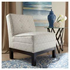 upholstered slipper chair donny osmond home target