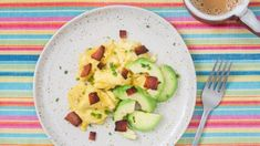 breakfast Archives Related to Keto Diet | KETO-MOJO Bacon Avocado, Bacon Bits, Non Stick Pan, Good Fats, Sour Cream, Guacamole, Zucchini, Keto Recipes, Stuffed Peppers