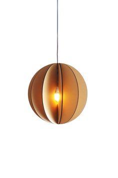 suspension lamp designer pendant ligts made of cardboard