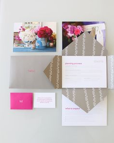 stems welcome packet by stitch
