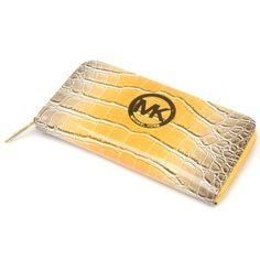Michael Kors wallets,very cheap really,about save 80% off,i love it ~! | See more about snakes, michael kors wallet and yellow.