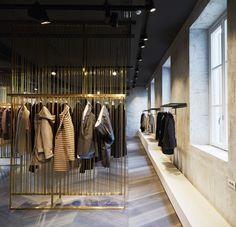 Lardini Showroom Expansion by Meregalli Merlo Architetti Associati & Andrea Carmignola, Milan – Italy » Retail Design Blog