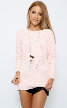 Peppermayo - mellow daze knit / pink ... Want