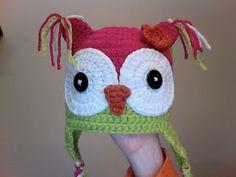 FREE Owl Hat Pattern! Love it!!!