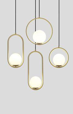 Glass ball pendant lamp – mooielight