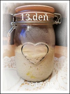...svet okolo mňa ...: Príprava kvásku Lievito-Madre Mason Jars, Mason Jar, Jars