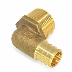 Copper Stub Out Elbow w//Ear for 1//2 PEX Tubing 6 x 3.5 Pack of 25
