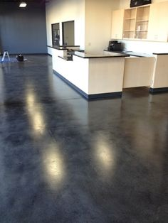beautiful stained concrete floors - Google Search