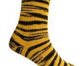 Socks Zoofari Yellow, EU size 37/39 - US size 6/8.5, UK size 4/6.5
