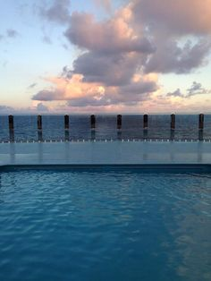 The Infinity Pool on #MSCDivina is a first on a ship...Right?