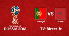 Coupe du Monde 2018 : Portugal / Maroc en live streaming sur internet. Regarder le match de foot du mondial 2018 en direct sur internet. Livescore, flux stream vidéo et pronostic en temps réel.