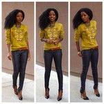 Style Pantry | Gap Boyfriend Shirt + Zara Pegged Corduroy Pants