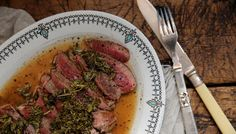 I Quit Sugar loves this quick lamb dish with Mint and Apple Cider Sauce from My Petite Kitchen Cookbook.