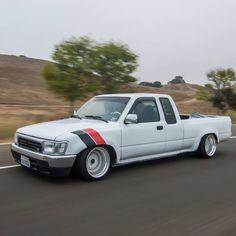 Toyota Hilux mini truck rolling