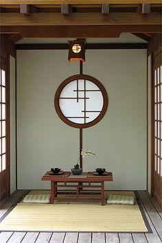 Japanese Zen Garden: Japanese Tea House - All About Japanese Tea House, Japanese Interior Design, Japanese Kitchen, Japanese Garden Design, Japanese Gardens, Japanese Style, Tea House Japan, Japanese Tea Table, Japanese Pics