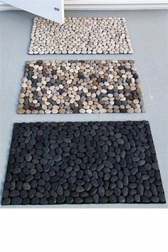 How to: Make Your Own DIY Spa-Inspired Pebble Bath Mat - DIY Bathroom Ideas That May Help You Improve Your Storage space Best Picture For home diy projects -