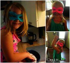 Ninja Turtle Mask pattern by Corina Gray