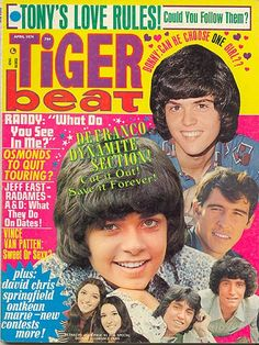 Tiger Beat (April 1974)