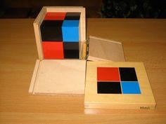 Montessori Binomial Cube presentation with video