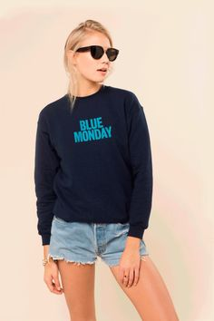 Rad.co - Blue Monday Sweater -  34,90