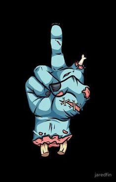 Wallpapers para celular com temática nerd! - Guerreira GeekGuerreira Geek Dope Cartoons, Dope Cartoon Art, Arte Dope, Dope Art, Zombie Drawings, Art Drawings, Arte Horror, Horror Art, Art Zombie