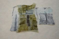 Nuno felt create textiles with stitch and mixed media. Liz Clay Create an original artwork in felt inspired by the dynamic rhythms in nature and exploiting the full repertoire of creative techniques available to the nuno felt maker. Starting with photographic prints of abstract images or close-ups, find ways to translate these into felt. https://www.westdean.org.uk/CollegeChannel/Tutors/TutorProfilesandWork/LizClay.aspx