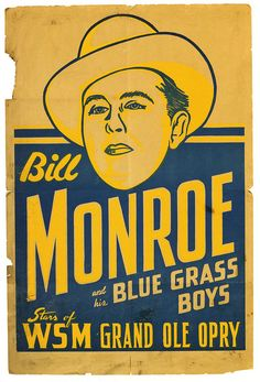Bill Monroe and His Blue Grass Boys on the Grand Ole Opry