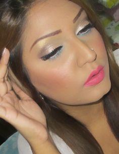Sungstar Dolly: Subtle eyes + Bright lips