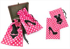 Lingerie Bag & Shoe Bag Travel Set | Sew4Home
