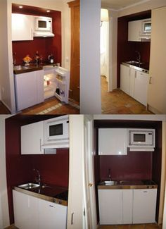 Small Kitchenette ikea-equipped small kitchenette - needs a vertical drawer for