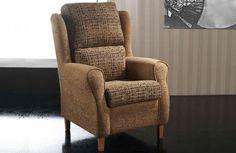 Butaca Sillon Orejero de estilo Moderno con posibilidad de tapizado en varios colores y combinaciones | 302 SIL BUT 03