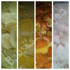LACHS - KARTOFFEL - AUFLAUF Rezept: http://babsiskitchen-foodblog.blogspot.de/2015/07/lachs-kartoffel-auflauf.html