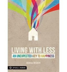 Book Living With Less by Joshua Becker