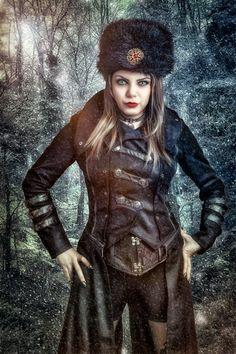 https://flic.kr/p/JPhttC | The blizzard of her mind | Photo by Sherring  Model/MUA/Stylist Azadeh Brown #azadeh #azadehbrown #goth #gothmodel #alternative #alternativemodel #gothfashion #gothic #darkphotography #burlesque #elegant #model #modelling #vogue #persianmodel #persian #beauty #makeup #darkbeauty #vintage #eyes #fashion #femmefatale #doll #pin up #gun #military #WWII #worldwartwo #girlswithguns #army #uniform #girlsinuniforms  #tankgirl #actiongirl #USSR #Russian #postapocalyptic