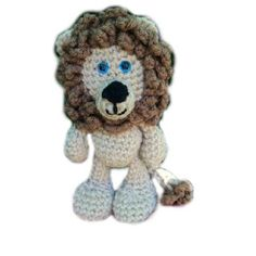 Free Lion Crochet Pattern -see this yet Dany?